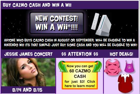 win a wii and jessie james concert new newspaperss