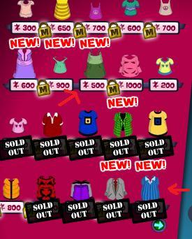 new clothes 25.9.09